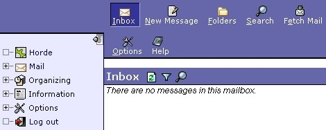 View your email messages